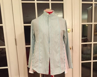 Handmade, vintage feel, up cycled adorable woman's top size M