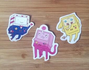 Adventure Time x BMO Stickers