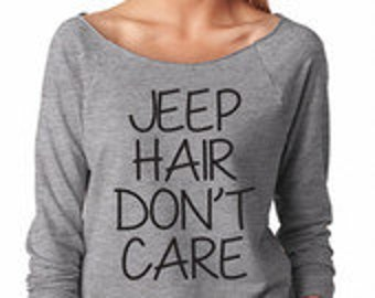 JEEP Hair Don't Care shirt - GOLD FOIL options - Jeep hair tank - Jeep hair don't care - Jeeps are for me - Jeep shirt.