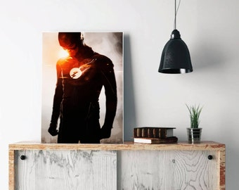 Dc Comics Wall Art dc comics | etsy