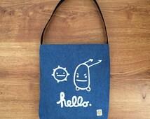 Hello Again Bag (Blue)