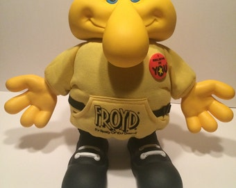 Froyd, Froyd yellow plush, Froyd I believe in you,