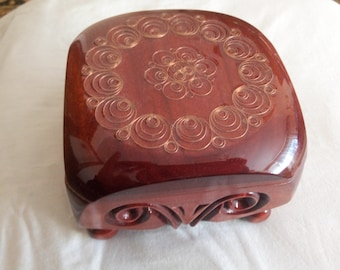 caskets with copper decorations