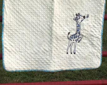 Adorable Giraffe Quilt