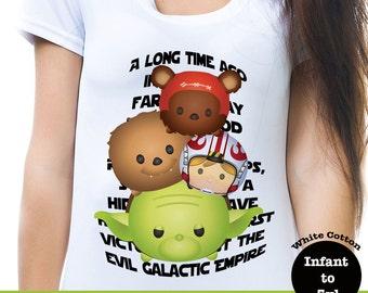 Star Wars Tsum Tsum Shirt, Galactic Empire Tee