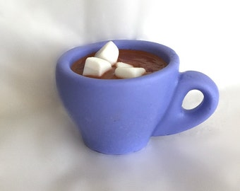Hot Chocolate Cup  with Marshmellows SOAP