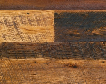 Reclaimed Circle Sawn Oak Hardwood Flooring - Wall / Ceiling Paneling - Cladding