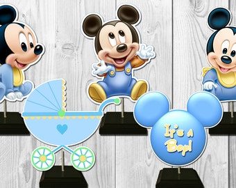 Baby mickey mouse Etsy