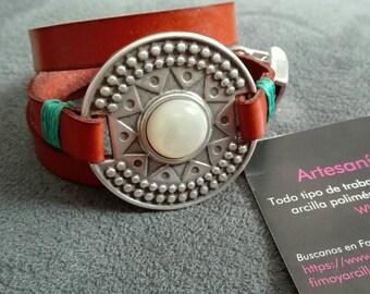 Inca Medallion bracelet