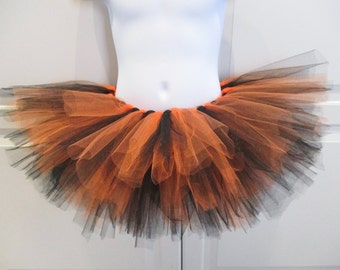 Black and Orange Tutu/Halloween Tutu/SF Giants Tutu/Bengals Tutu/Anaheim Ducks Tutu - Other Colors Available
