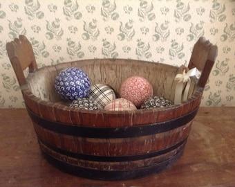 Oak butter barrel
