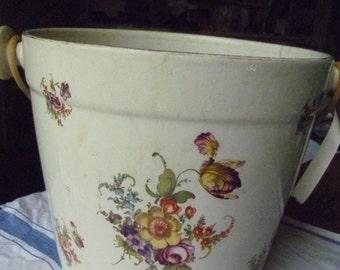 Floral slop pail
