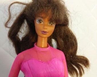 Barbie in Hot Pink.