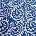 5 yard Hand Block Printed Indigo Blue Dabu Print Cotton Fabric, Hand Printed Blue Fabric, Indian Handmade Vegetable Dye Fabric HPS#102