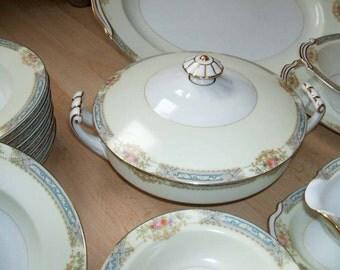 dinner sets uk online. noritake dinner set / annette rose china japan fine vintage 40s sets uk online
