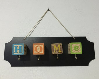 "Custom ""Home"" key holder"