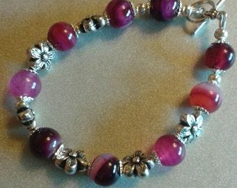 FREE SHIPPING Agate bracelets