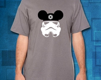 Star Wars Stormtrooper with Mickey Ears T-Shirt // Stormtrooper T-Shirt // Star Wars Shirts // Disney Shirts