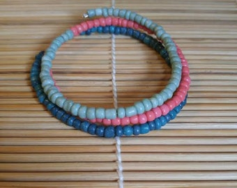 Spring Coral Bracelet