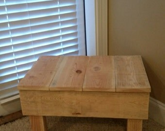 Large plant stand, bench