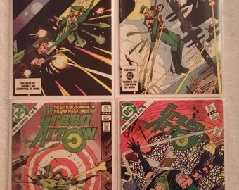 Green Arrow, #1-4, Complete Limited Series (DC 1983)