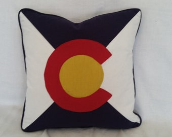Colorado Flag Pillow