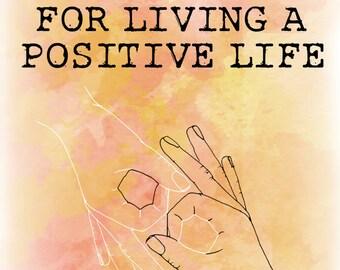 Positive life zine