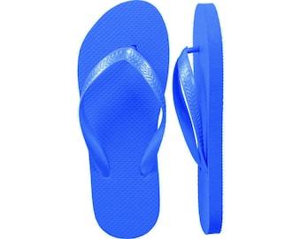 Blue Flip Flops Bulk - 24 Pairs