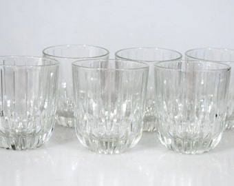 Six Glass Tumblers