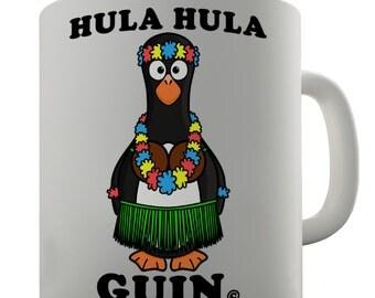Hulahula Guin Funny Penguin Ceramic Mug