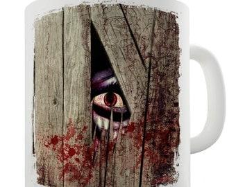 Eye Of The Monster Ceramic Tea Mug