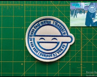 Ghost in the Shell - Laughing Man patch Replica