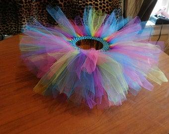 multi colored tutu