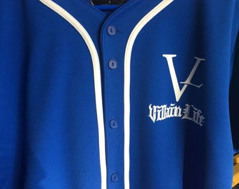 Blue baseball Jerseys