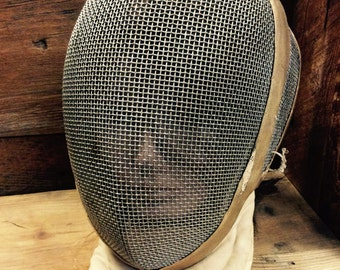 French fencing mask