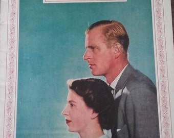 London News 1951  featuring (was then) Princess Elizabeth with the Duke of Edinburgh Canadian Royal Tour