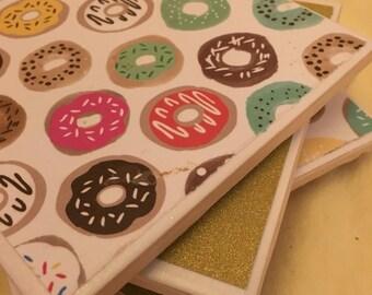 Donut Coaster Set
