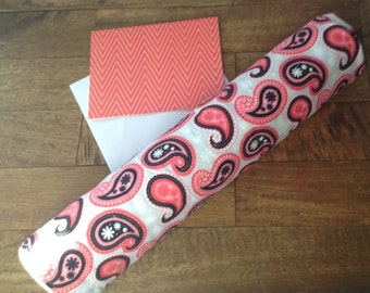 SALE pink, grey & polka dot baby blanket, girl baby blanket, 100% cotton baby blanket, baby shower gift