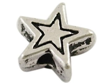 6mm Star Bead X10