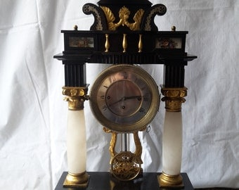 Bidermajer table clock 1830y.