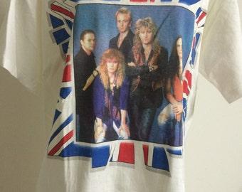 Def Leppard Vintage Concert Shirt 1992