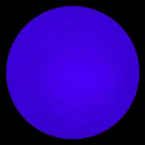 Deep Purple Glow in the Dark Pigments