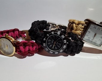ByQuinty paracord watches