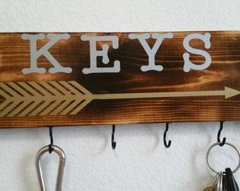 Wood Keychain H older