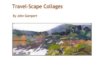 Travel Collage book