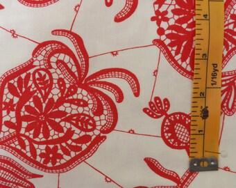 Amy Butler Lark Souvenir, Rowan Fabrics, Ivory, PWAB068, quilting fabrics