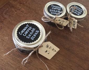 Organic Coconut Coffee Sugar Scrub