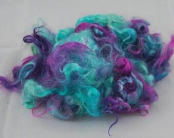 Hand Dyed Mohair Locks