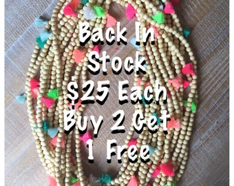 Tassel Necklace/Bracelet