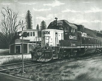 GATX Train Engine